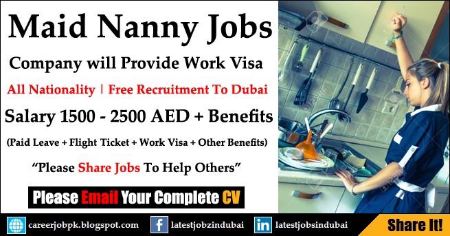 Housemaid Cleaning Jobs in Dubai 2017