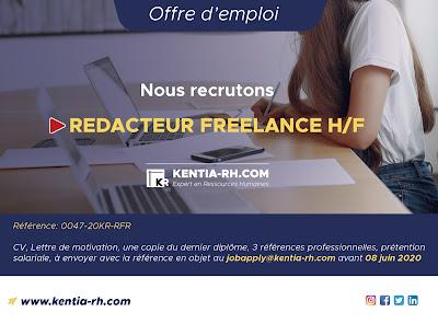 REDACTEUR FREELANCE H/F