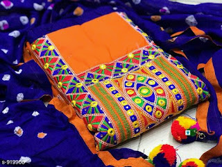 Niyanta Elegant Cotton Suits & Dress Materials