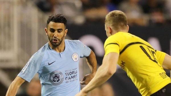 مباراة مانشستر سيتي وواتفورد محرز 4-12-2018 البريميرليج