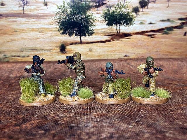 28mm The Assualt Group (TAG) terrorist insurgent miniatures