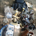 Photo Of Items Recovered After Raid On Bomb-Making Factories In Maiduguri
