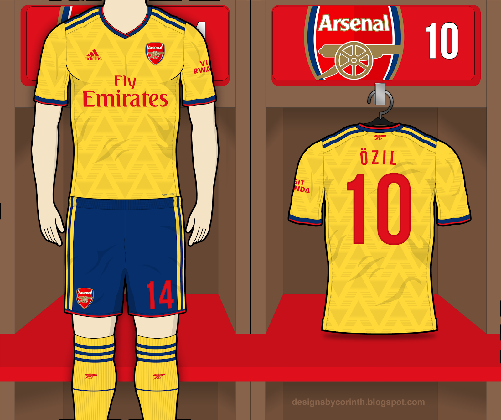 eb1acd469ef Arsenal 2019 20 Home and Away Kit Predictions (according to leaks)