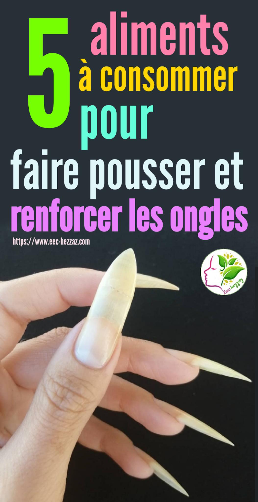 5 aliments à consommer pour faire pousser et renforcer les ongles