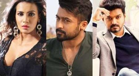Meera Mitun against Suriya and Vijay Cyber attack allegation, Chennai, News, Cinema, Allegation, Actor, Actress, Twitter, National.