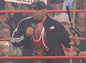WCW Bash at the Beach - Hardcore Champion Big Vito faced Norman Smiley and Ralphus