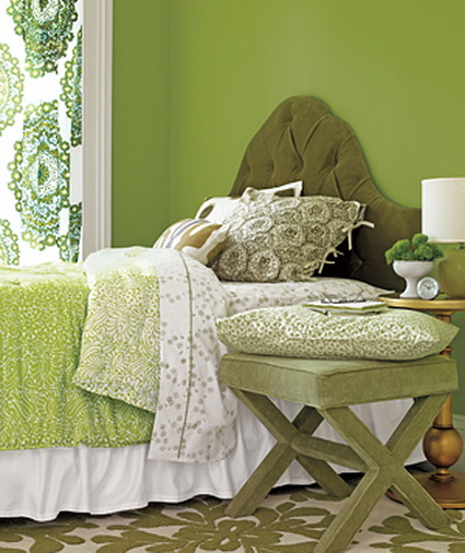 Best Bedrooms in Green Color Scheme 5