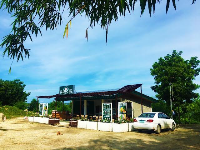 Coffee Bar Near Bamboo Forest Entrance