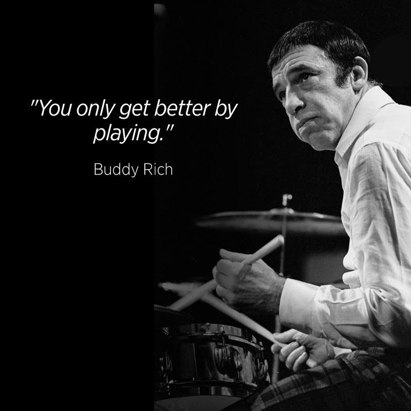 buddy rich essay Stream buddy and sweets by buddy rich and harry edison and tens of millions of other songs on all your devices with amazon music unlimited exclusive discount for .