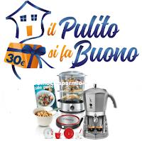 Logo ''Il Pulito si fa Buono'': per ogni 15€ spesi ricevi buoni da 30€ ( alcuni cumulabili tra loro)