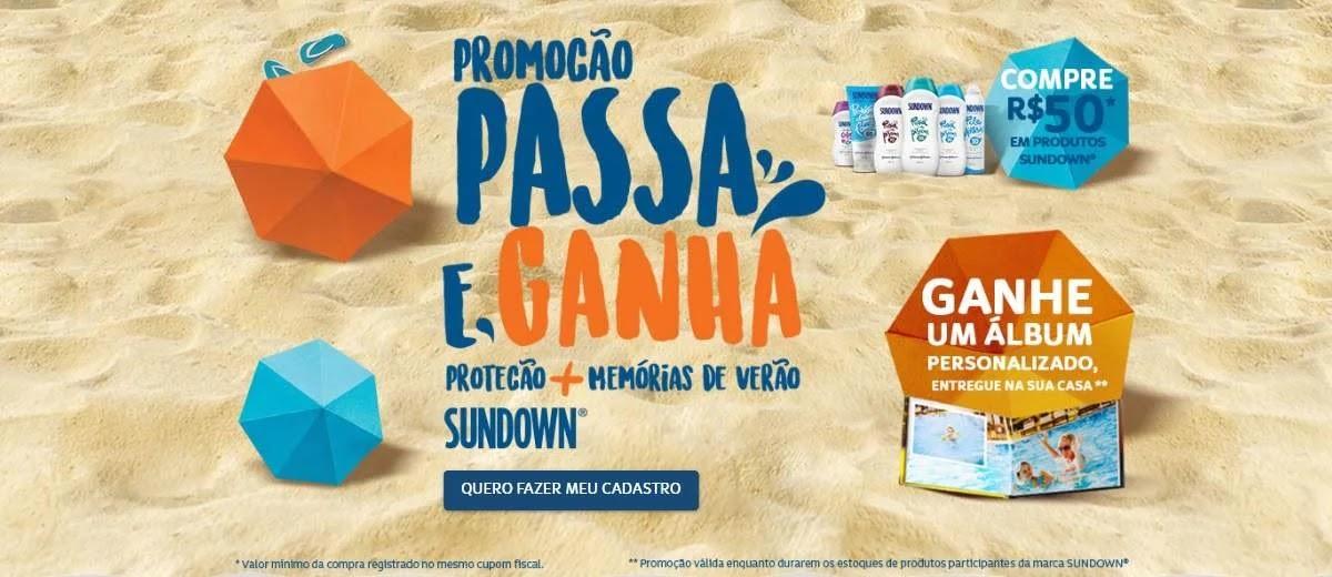 Promoção Sundown 2020 Passa e Ganha Álbum Personalizado