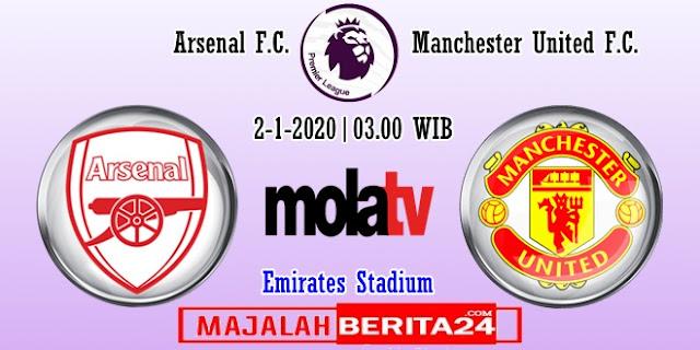 Prediksi Arsenal vs Manchester United — 2 Januari 2020