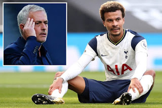 Agbonlahor Reveals The Infighting Between Mourinho And Dele Alli