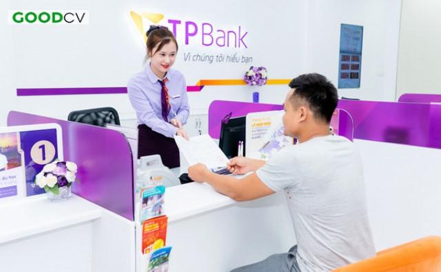 Mẫu áo sơ mi tay dài TPBank