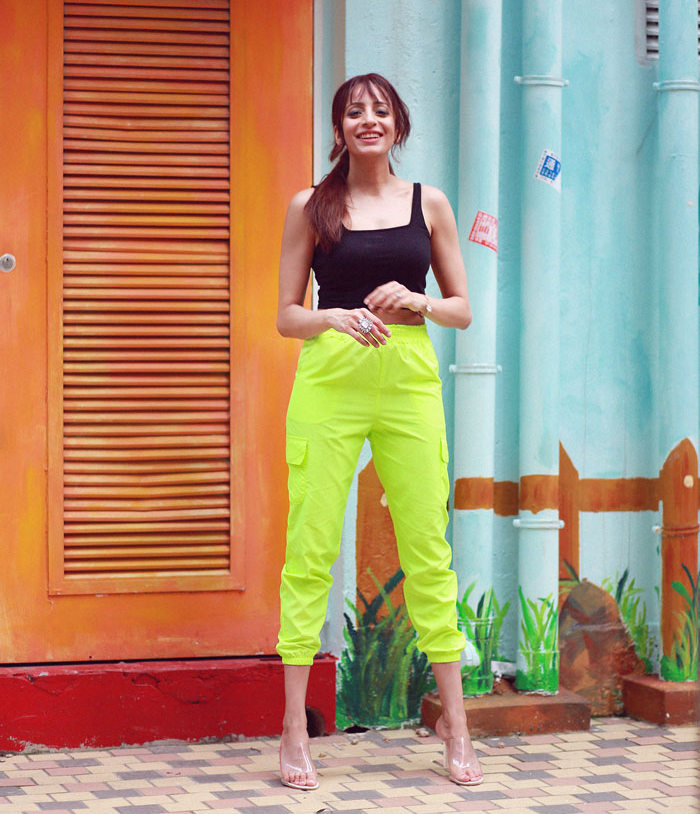 Femme Luxe Neon Lime Green Cargo Pants