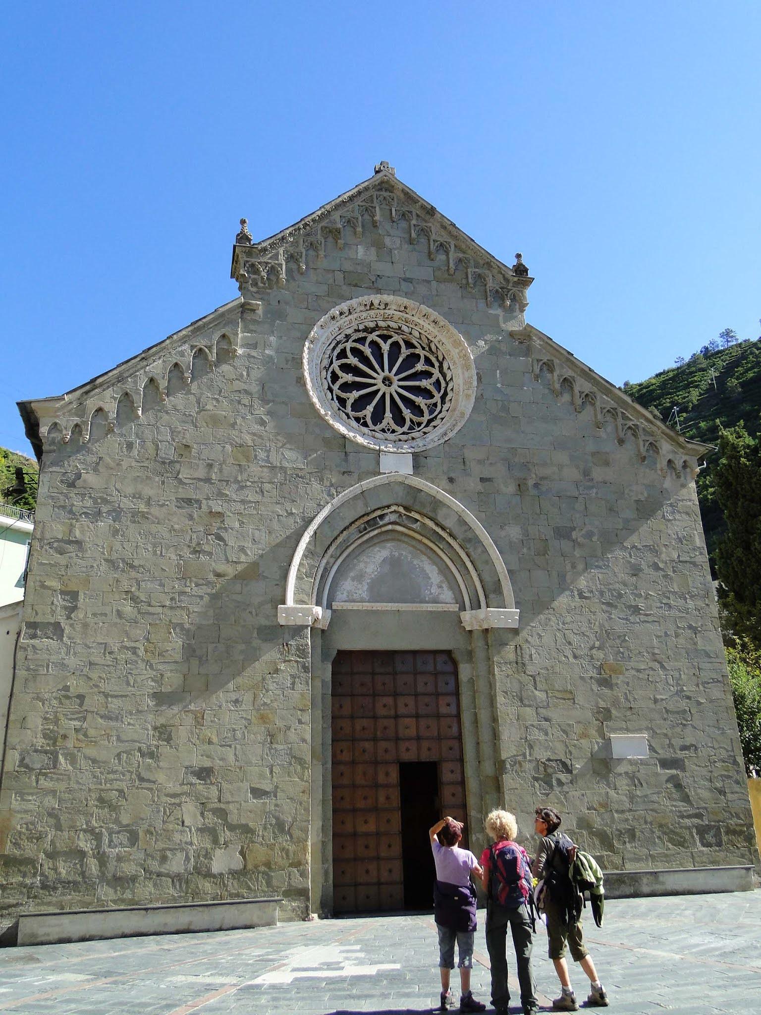 Igreja San Lorenzo, Manarola, Cinque Terre