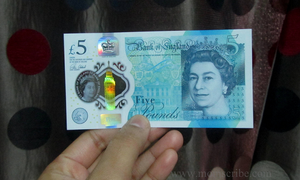 new five pound note 2016