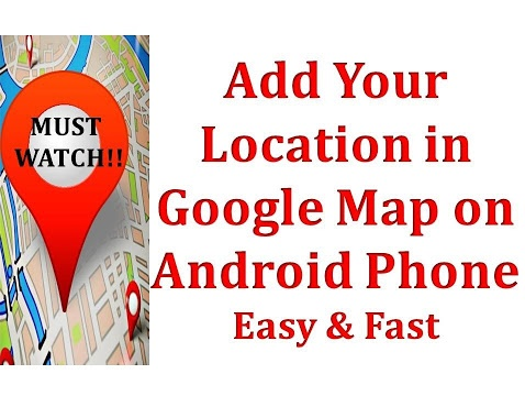 New Location In Google Maps