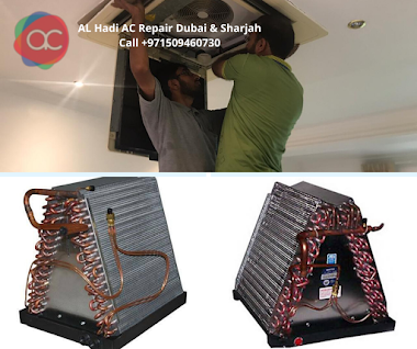 Ac cleaning and service of Evaporator Coil of your ac in Dubai & Sharjah