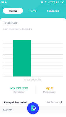 Cashflow bluaccount