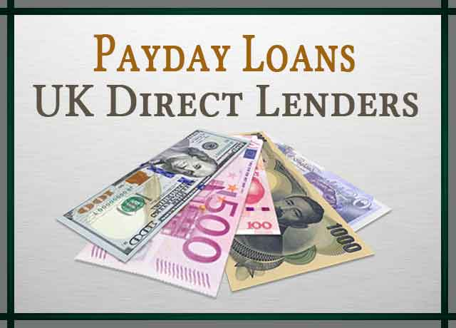 Payday Loans UK Direct Lenders
