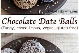 CHOCOLATE DATE BALLS (ENERGY BALLS)