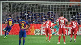 Barcelona 2 - 2 Atletico Madrid Full Match Video Highlight
