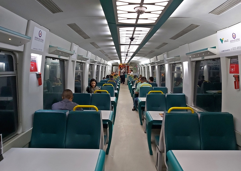 Trem de Vitória a Minas: quanto custa