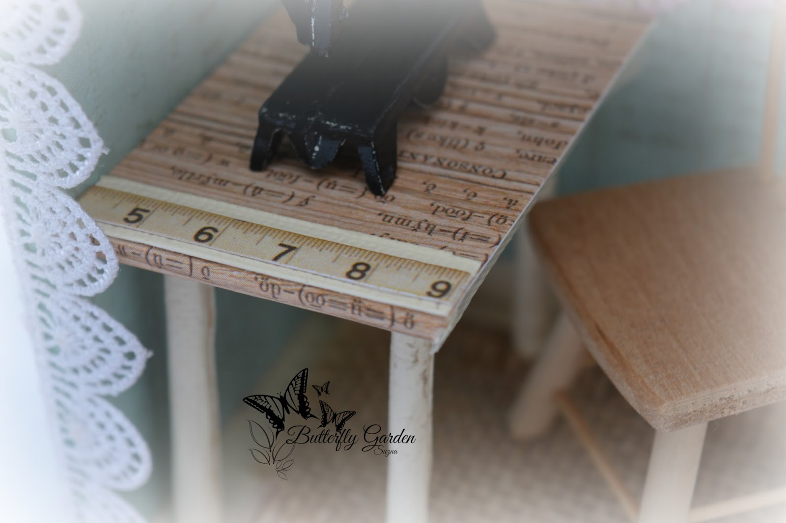 Crafters Corner Shadow Box Sewing Room
