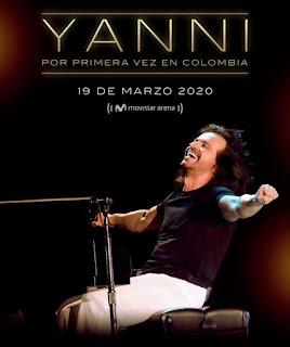 POS2 Concierto de YANNI en Colombia