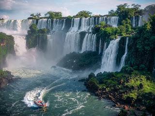 Argentina Honeymoon iguazu falls