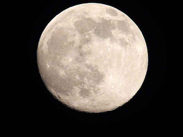 moon, 99% full
