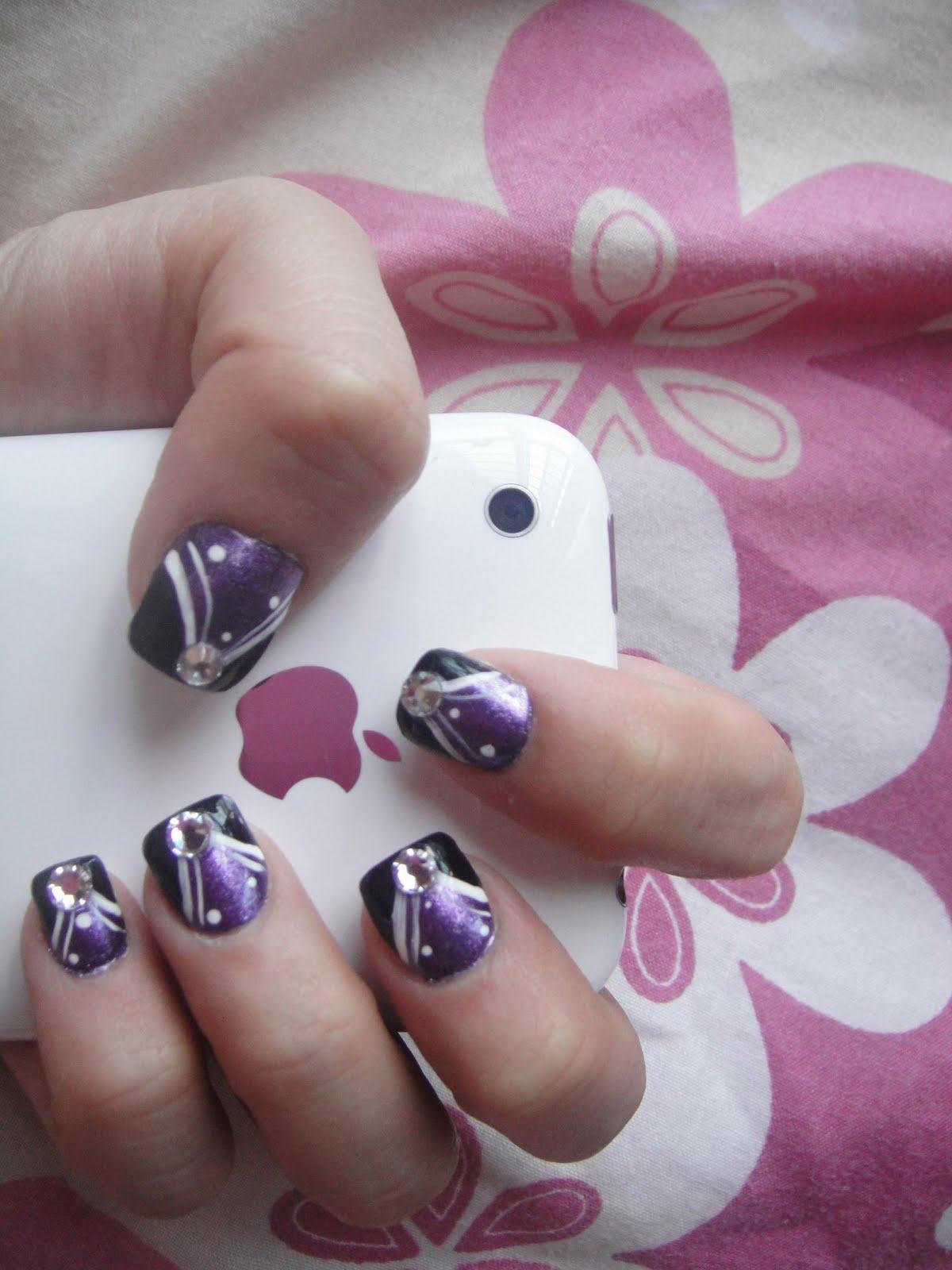 Nail Art: Nail Designs For Short Nails