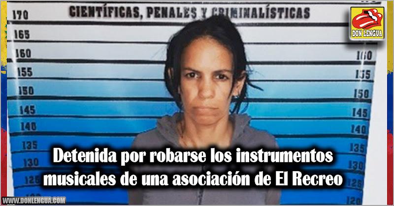 Detenida por robarse los instrumentos musicales de una asociación de El Recreo