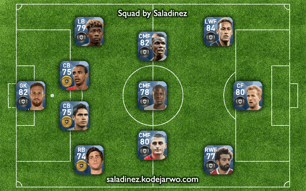 PES Potential Young Squad by Saladinez