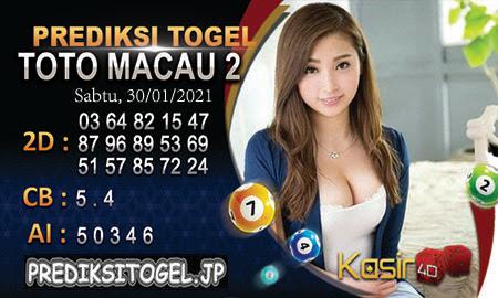 Prediksi Togel Box Office 4D Toto Macau Sabtu, 30 Januari 2021