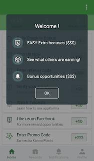 Cara Mendapatkan Uang dari AppKarma