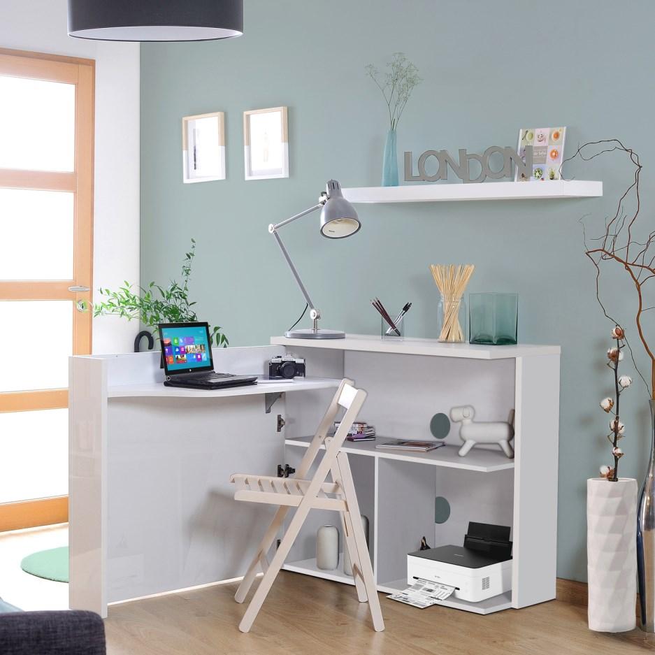 biurka do małego pomieszczenia