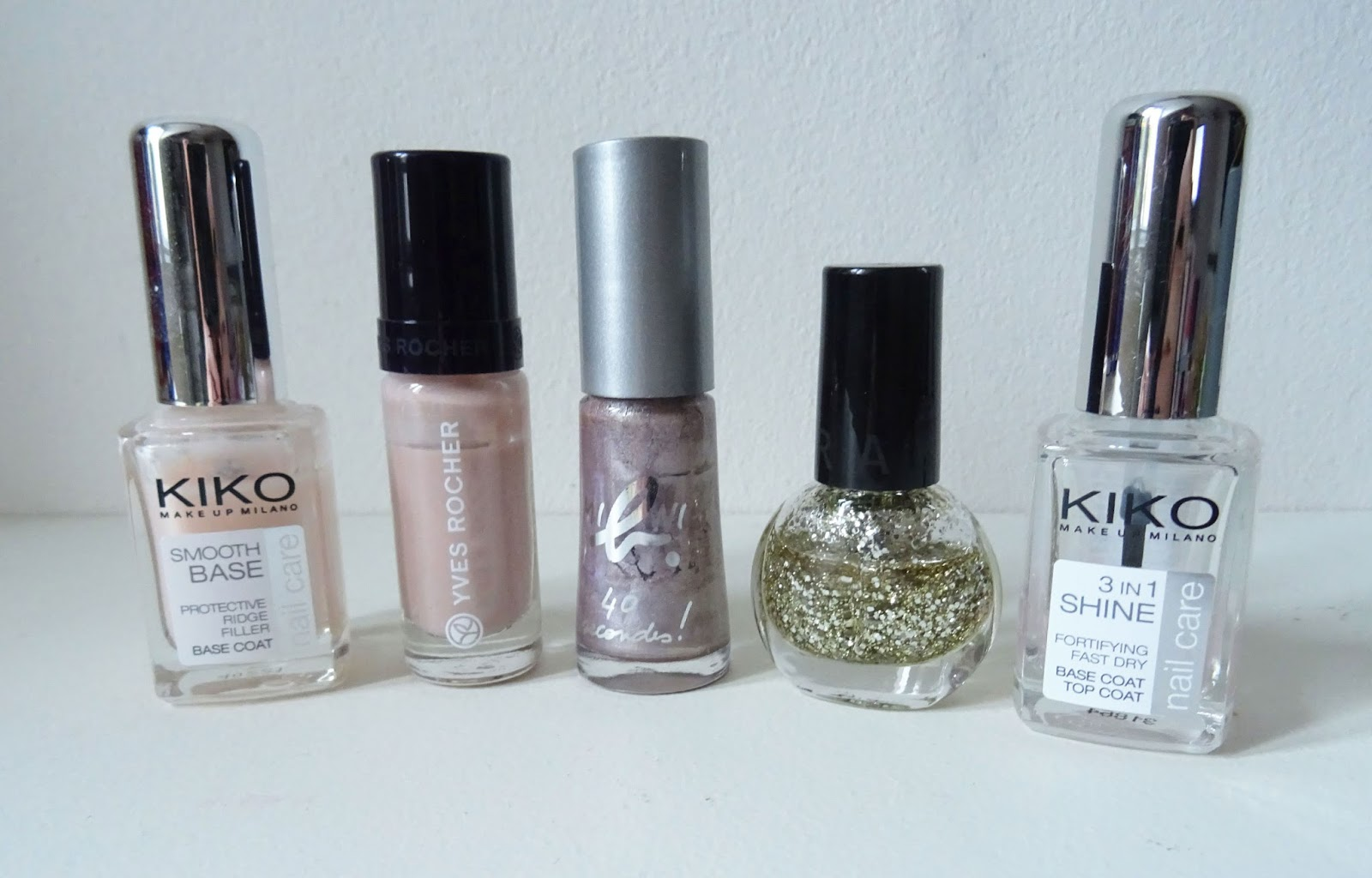 Tuto nail art Stamping nude et or fêtes