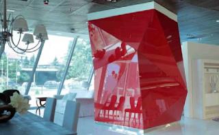 Aplikasi Painted Glass LACOBEL