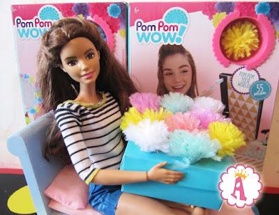 Наборы для рукоделия для девочек Пом Пом Вау