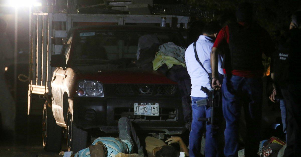 Detienen al responsable de la ejecución de 11 albañiles que tomaban una cerveza tras su dura semana laboral en Tonalá; Jalisco