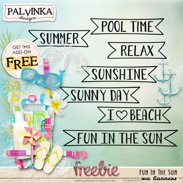Fun In The Sun Collection and FREEBIE