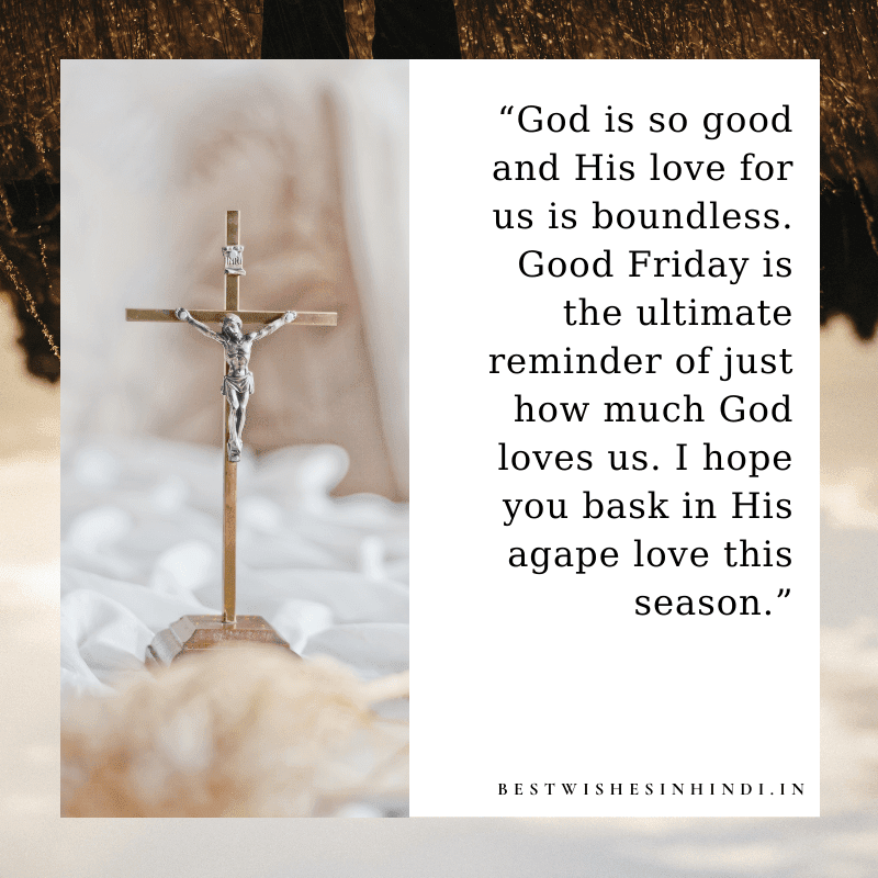 Easter Friday Wishes for Love, Good Friday Quotes