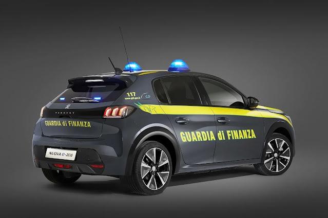 mobil listrik polisi italia