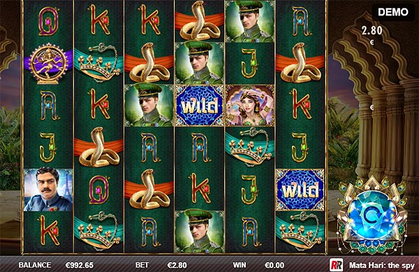 Main Gratis Slot Indonesia - Mata Hari The Spy Red Rake Gaming