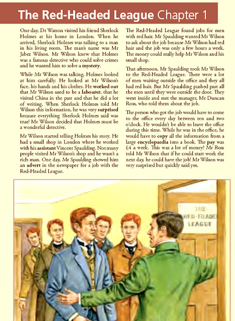 suspense of the red headed league The adventures of sherlock holmes (complete edition): a scandal in bohemia, the red-headed league, a case of identity, the boscombe valley mystery, the.