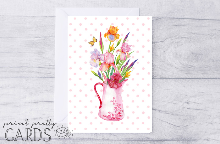 Free Floral Card Printables