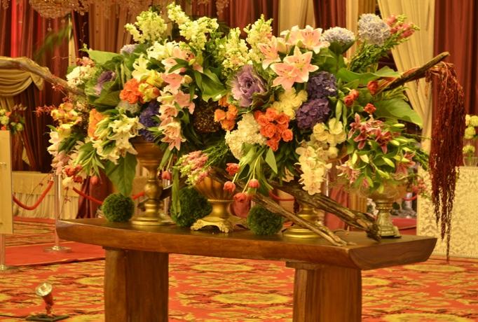 beberapa jenis bunga sebagai dekorasi