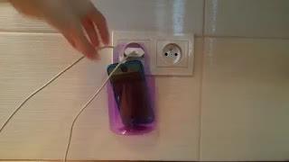 Membuat Holder Charger Hp dari Botol Sendiri